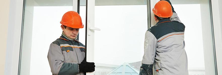 Installation de fenêtres sur mesure
