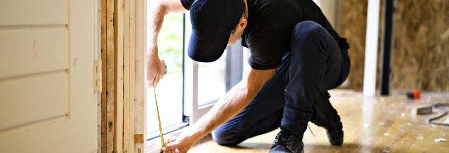 Pose et réparation de fenêtres et de portes