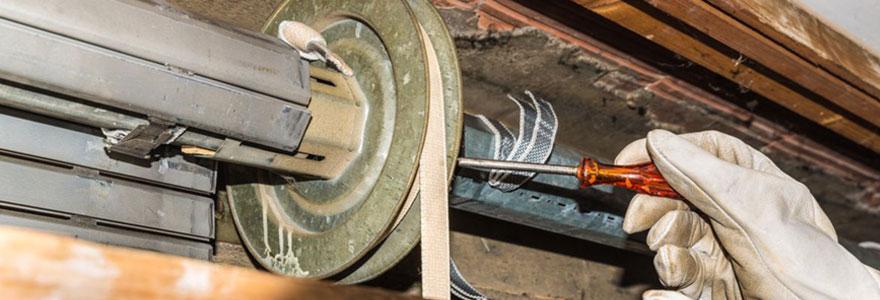 Réparation et dépannage de volets roulants